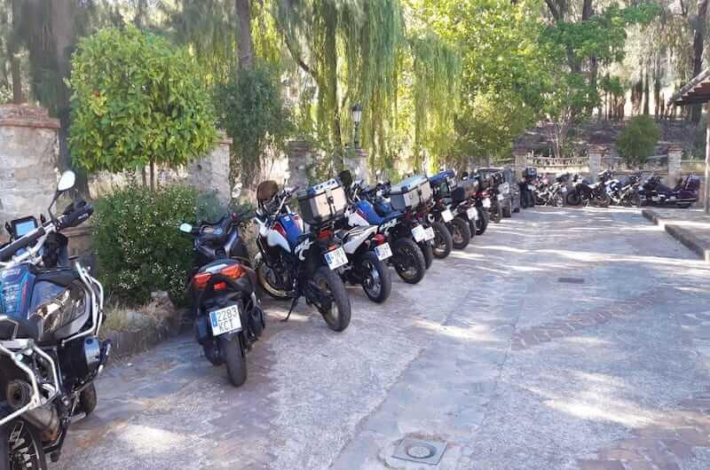 Motoclub Ceuta ADVT en Hotel Buitreras